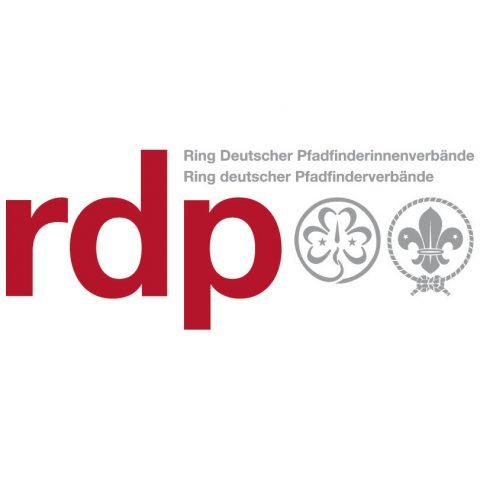 Logo vom Ring Deutschter Pfadfinderinnenverbände und Ring deutschter Pfadfinderverbände